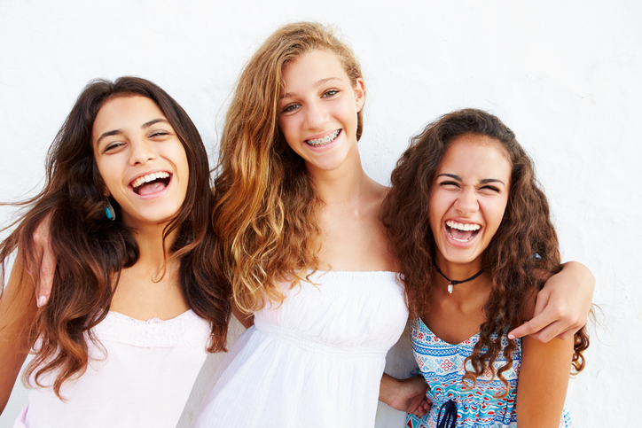 Image of a group of 15 Year Old Girls