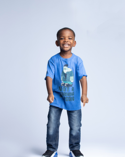 Image of a 4 Year Old Boy Smiling